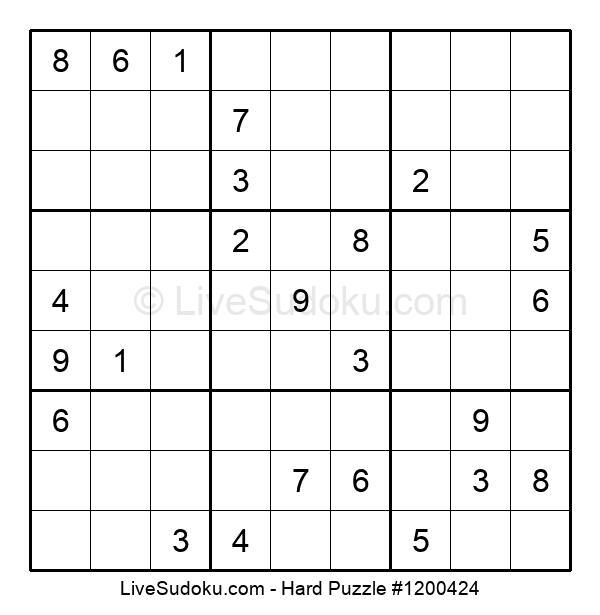 Hard Puzzle #1200424