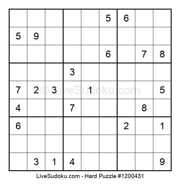 Hard Puzzle #1200431