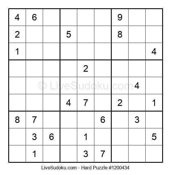 Hard Puzzle #1200434