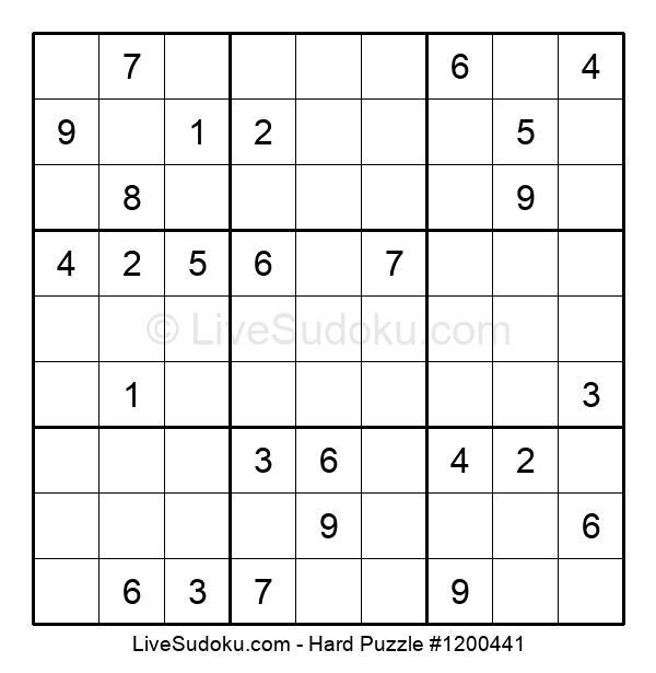 Hard Puzzle #1200441