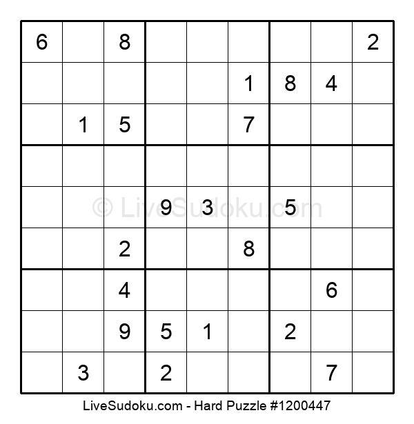 Hard Puzzle #1200447