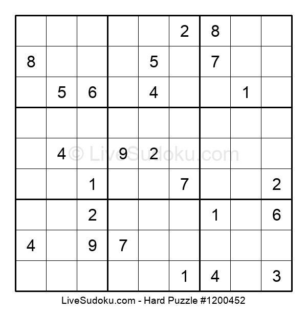 Hard Puzzle #1200452
