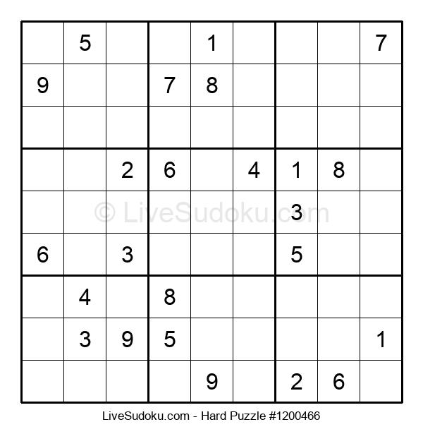 Hard Puzzle #1200466