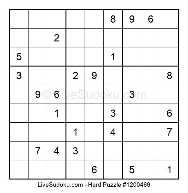 Hard Puzzle #1200469