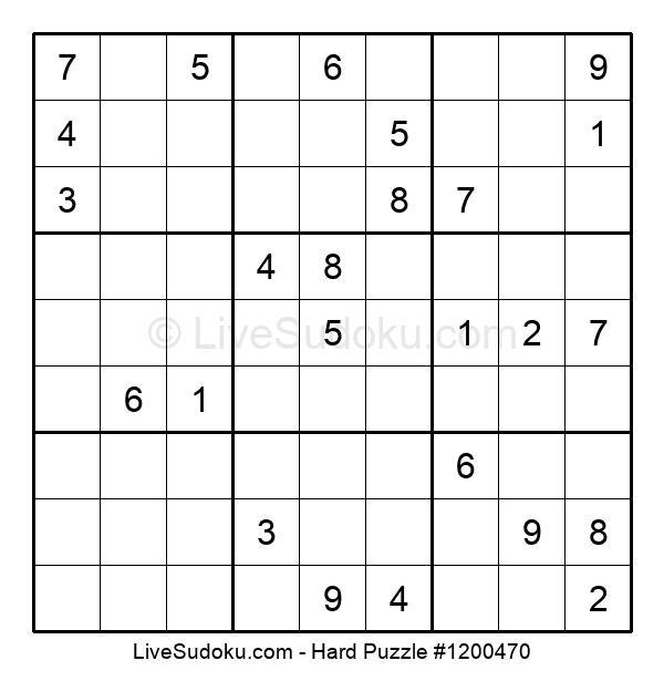 Hard Puzzle #1200470