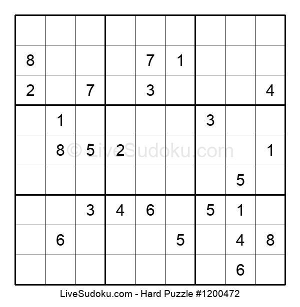 Hard Puzzle #1200472