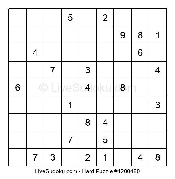 Hard Puzzle #1200480