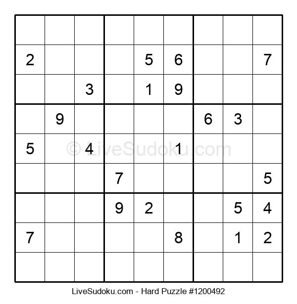 Hard Puzzle #1200492