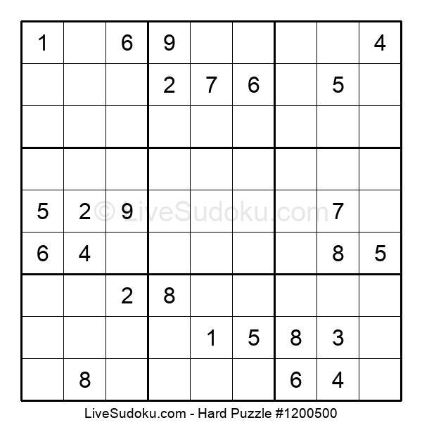 Hard Puzzle #1200500