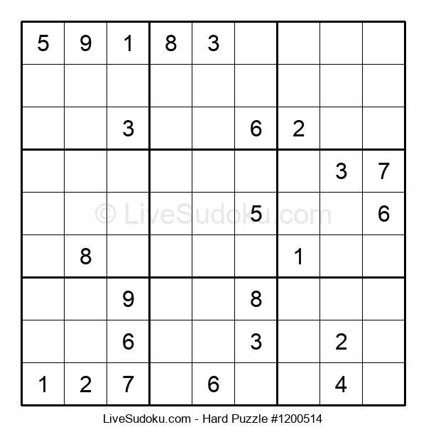 Hard Puzzle #1200514