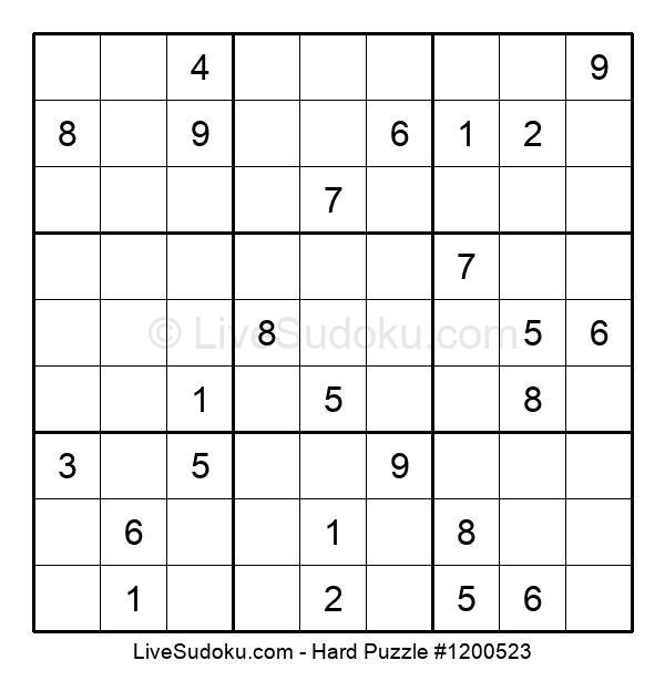 Hard Puzzle #1200523