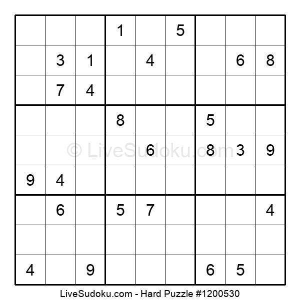 Hard Puzzle #1200530