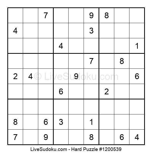 Hard Puzzle #1200539