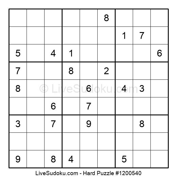 Hard Puzzle #1200540