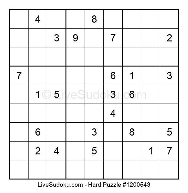 Hard Puzzle #1200543