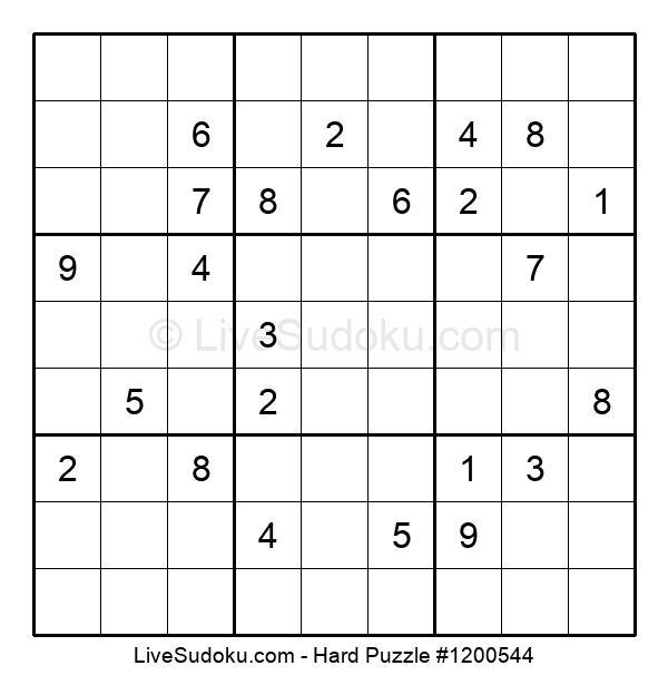 Hard Puzzle #1200544