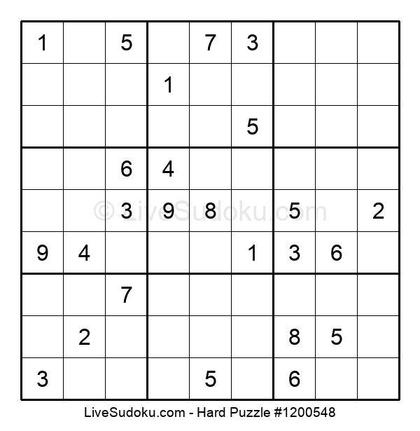 Hard Puzzle #1200548