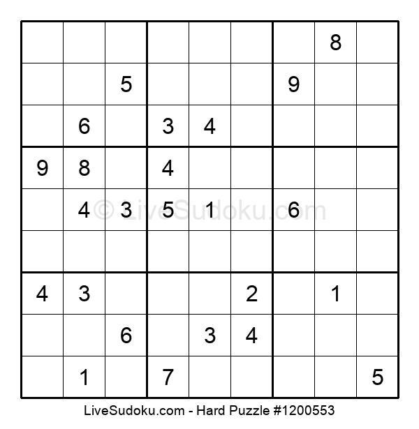 Hard Puzzle #1200553