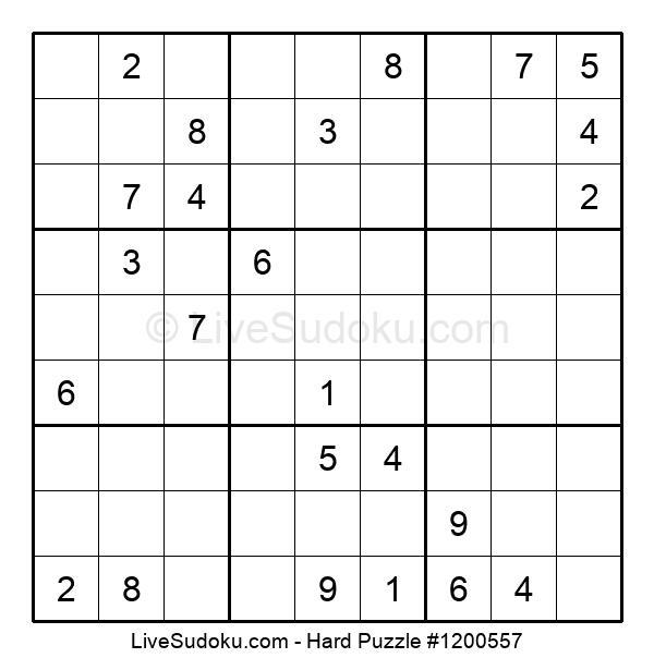 Hard Puzzle #1200557