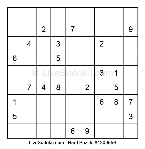 Hard Puzzle #1200559