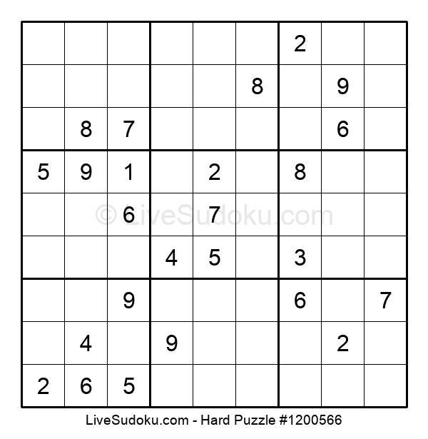 Hard Puzzle #1200566
