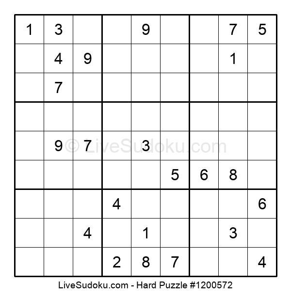 Hard Puzzle #1200572