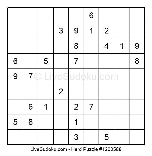 Hard Puzzle #1200588