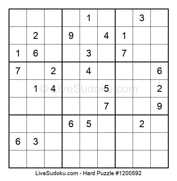 Hard Puzzle #1200592