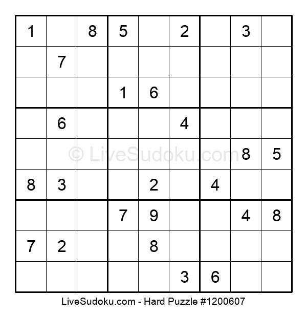 Hard Puzzle #1200607