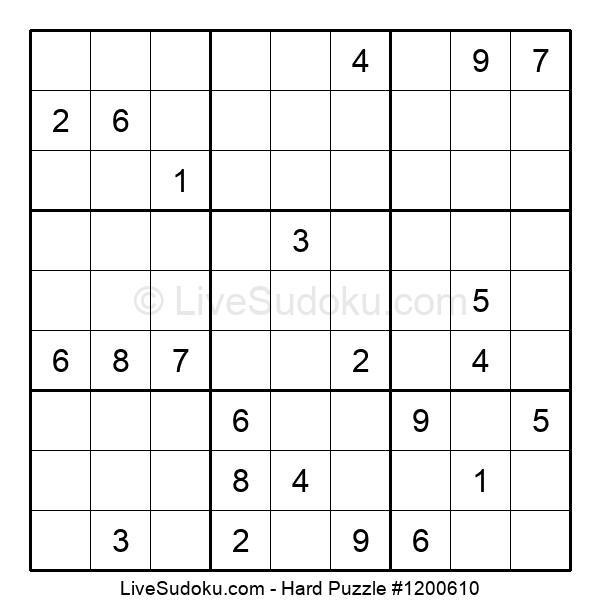 Hard Puzzle #1200610