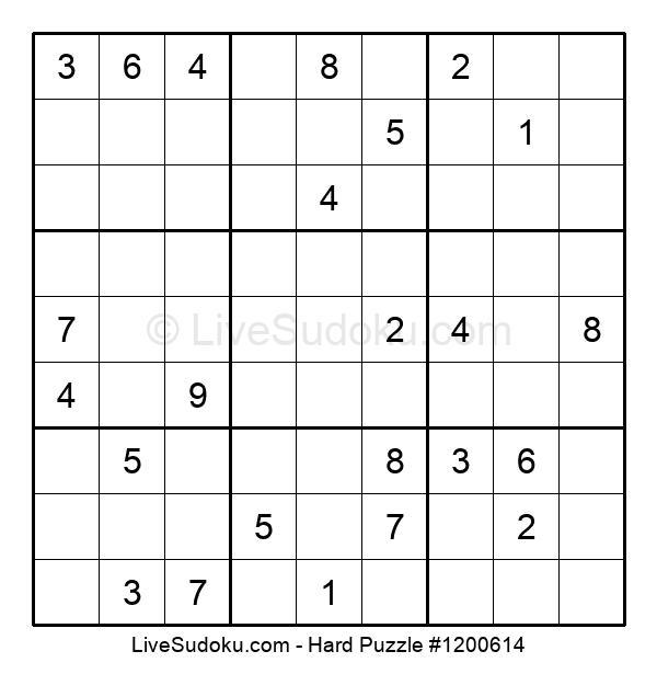 Hard Puzzle #1200614
