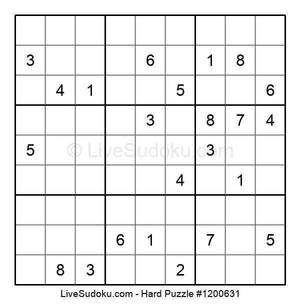 Hard Puzzle #1200631