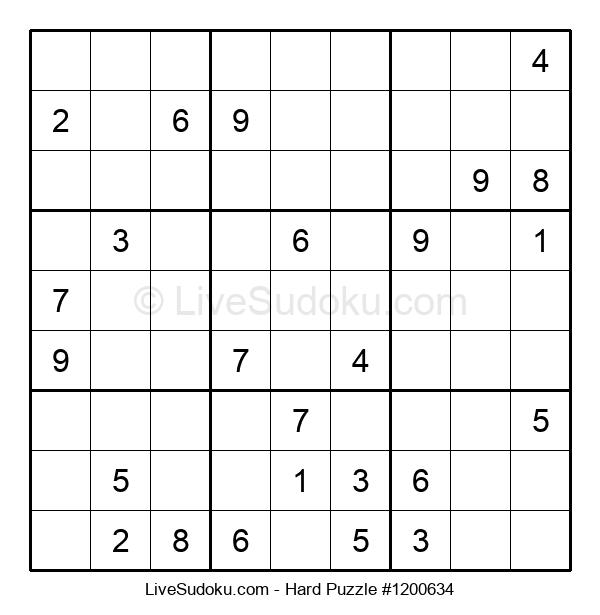 Hard Puzzle #1200634