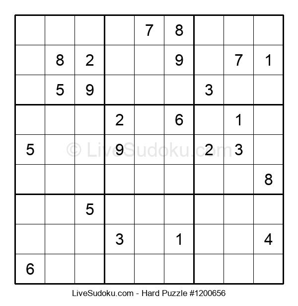 Hard Puzzle #1200656