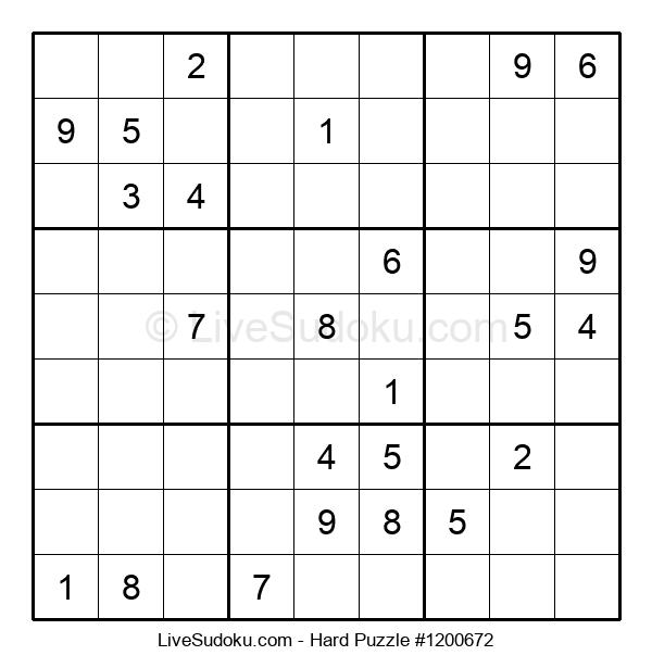 Hard Puzzle #1200672