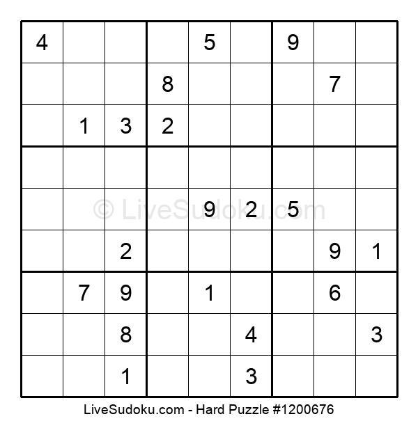 Hard Puzzle #1200676