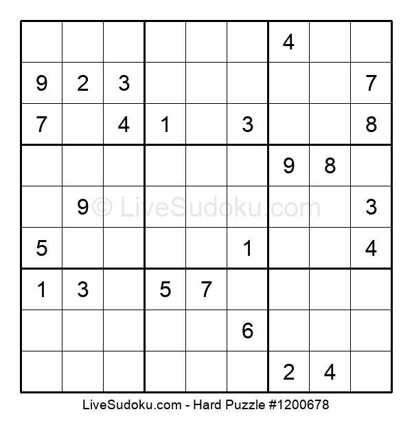 Hard Puzzle #1200678