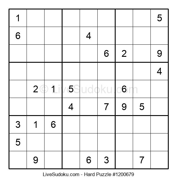 Hard Puzzle #1200679