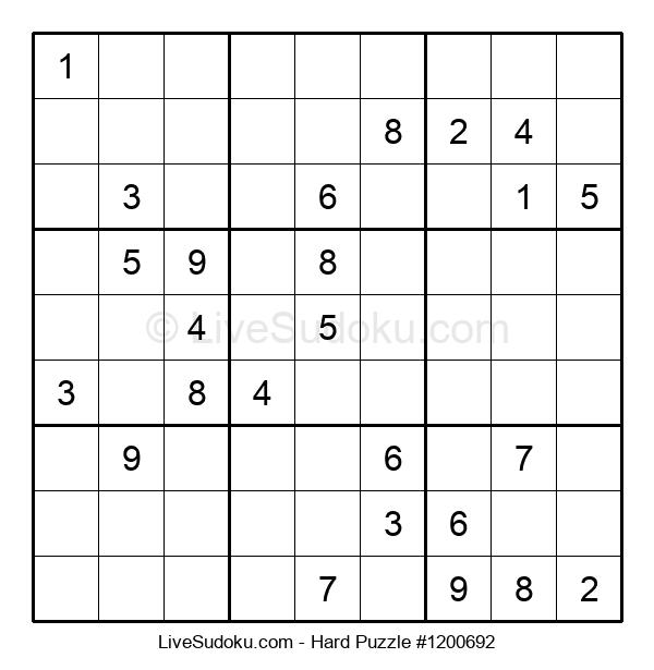 Hard Puzzle #1200692