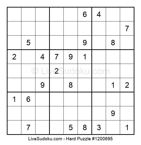 Hard Puzzle #1200695