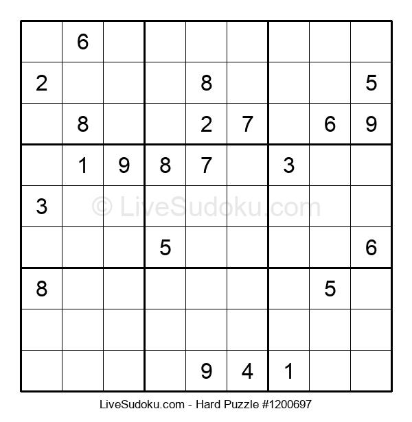 Hard Puzzle #1200697
