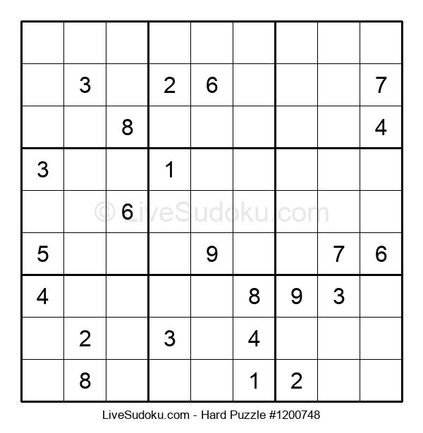 Hard Puzzle #1200748