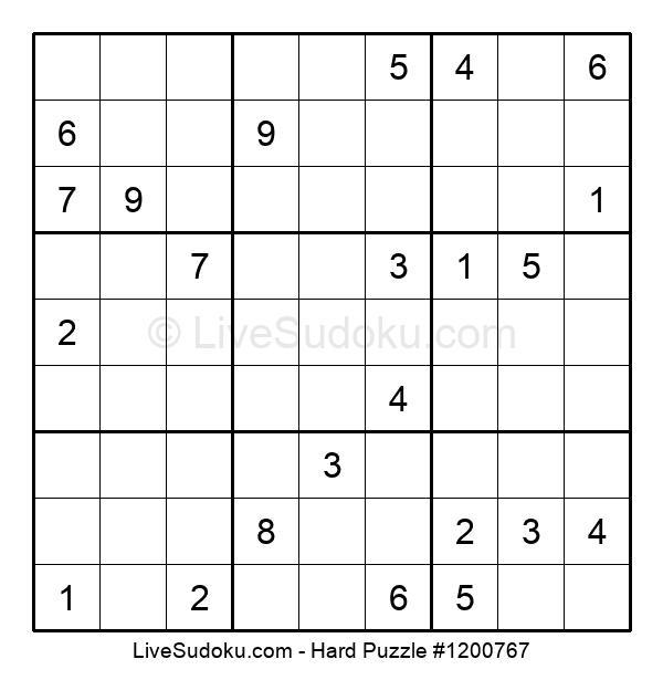 Hard Puzzle #1200767