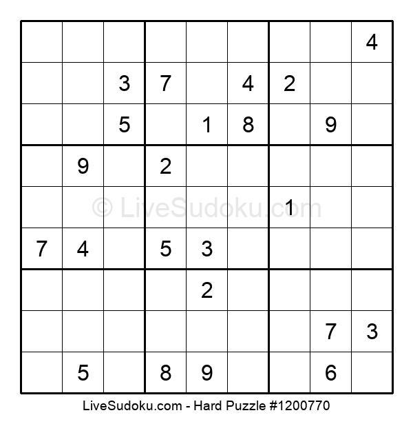 Hard Puzzle #1200770