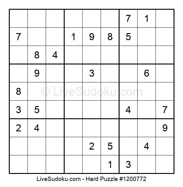 Hard Puzzle #1200772