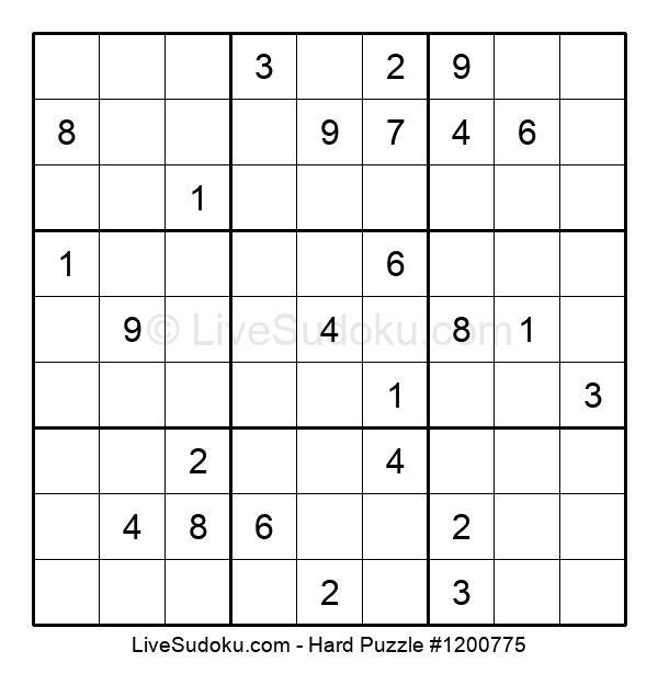 Hard Puzzle #1200775