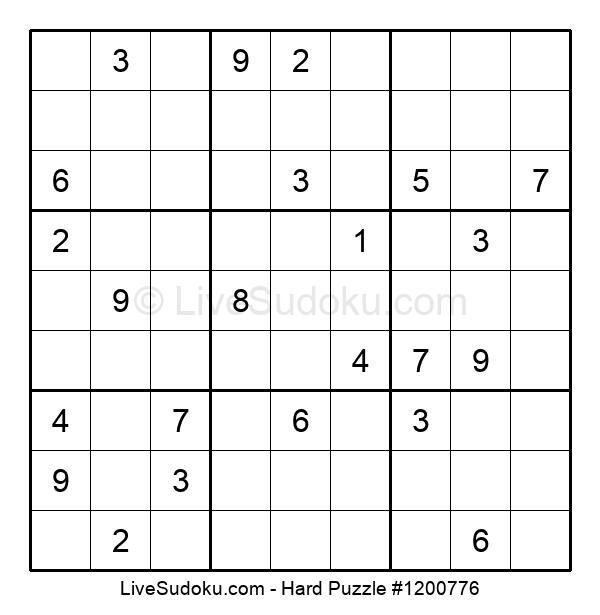 Hard Puzzle #1200776