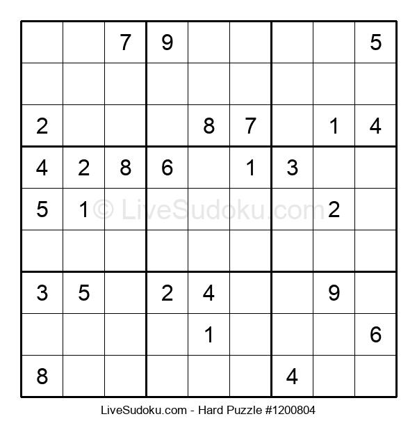 Hard Puzzle #1200804