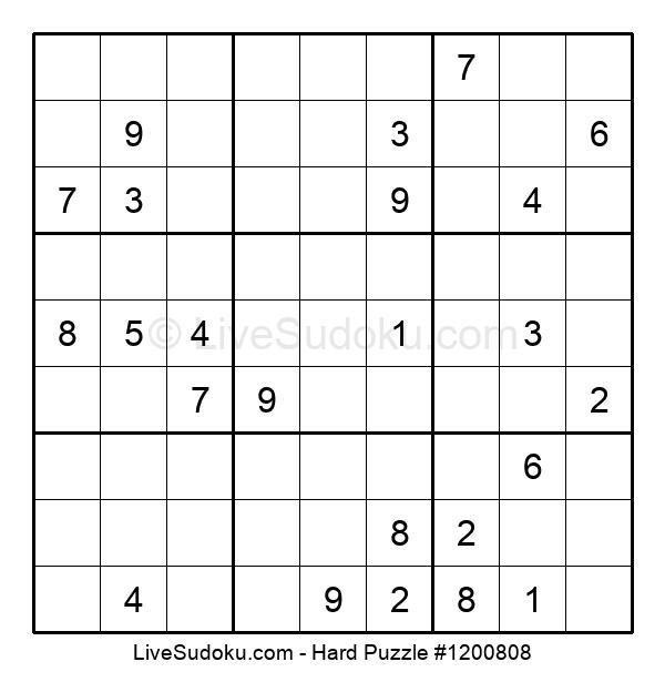 Hard Puzzle #1200808