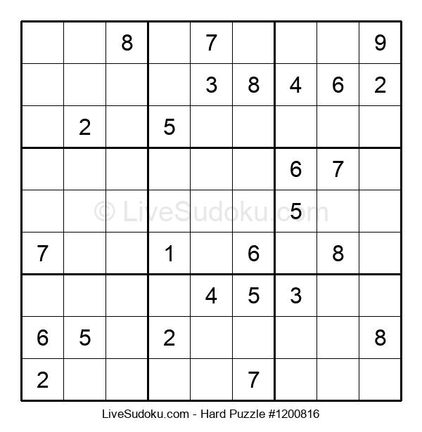 Hard Puzzle #1200816